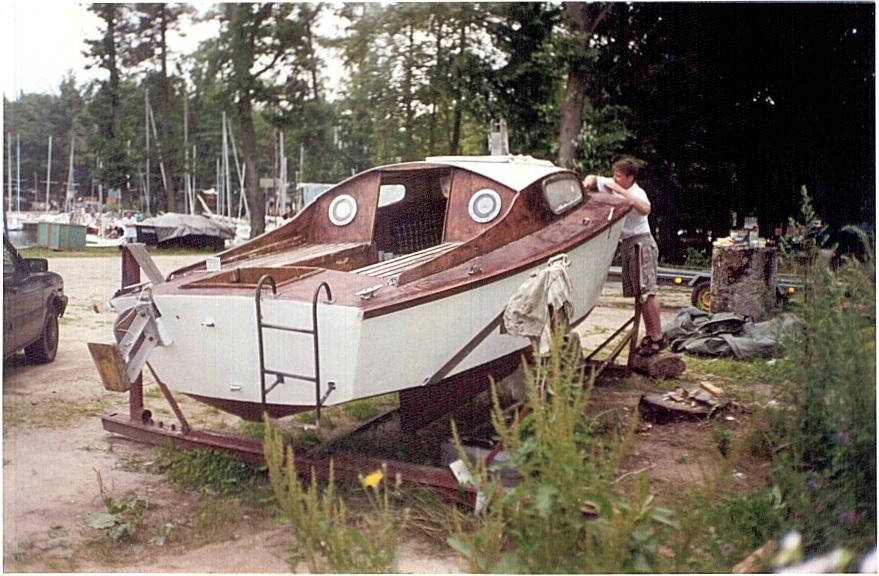 Historia remontu jachtu typu Silhuette MK II, konstrukcji Roberta Tuckera